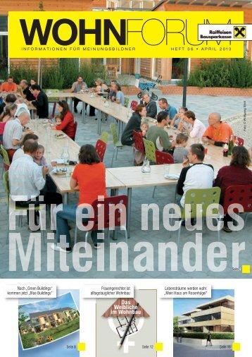 Wohnforum 28 - Raiffeisen Bausparkasse