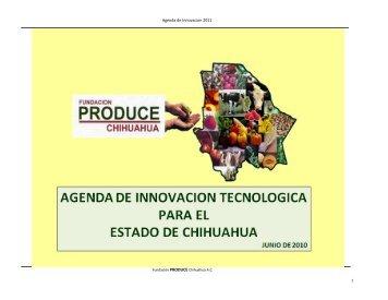 Agenda de Innovacion 2011 - Cofupro