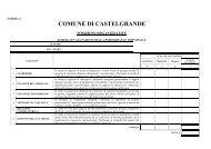 Scheda performance 2.pdf - Comune di CASTELGRANDE