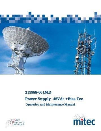 215988-001MD Power Supply -48Vdc +Bias Tee