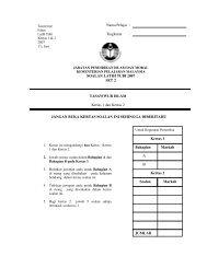 Latihan 2 - Jabatan Pelajaran Negeri Kedah