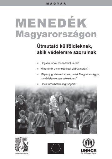 MENEDÉK - Magyar Helsinki Bizottság
