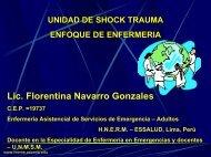 Unidad de Shock - Reeme.arizona.edu