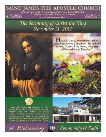 LPI Bulletin 04-0705 November 21 2010.pdf - Saint James the ...