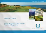 MEDIA DATA Golf Around The World News Magazine