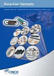 CI10 Dura-con Hermetic brochure artwork V3 ... - Cinch Connectors