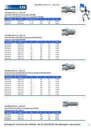DIN 69893 HSK A-C-E - HSK-A 50