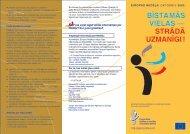 bīstamās vielas — strādā uzmanīgi - Eiropas darba drošības un ...