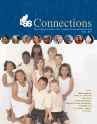 2010 Connections Issue 1 - Lutheran Social Services of Wisconsin ...