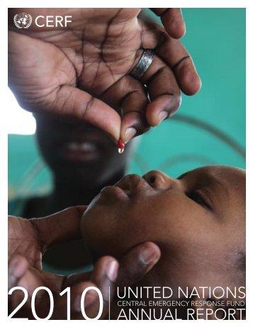 ANNUAL REPORT UNITED NATIONS - OCHANet