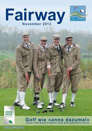 Fairway November 2013 - Golfclub Bremerhaven