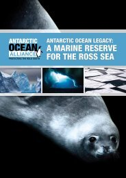 Antarctic Ocean Legacy: A Marine Reserve for the Ross Sea