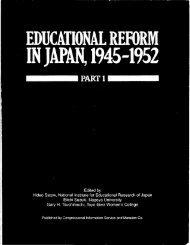EDUCATIONAL REFORM - LexisNexis