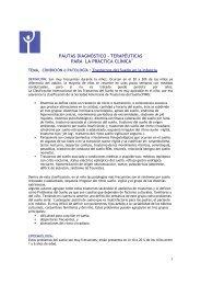 pautas diagnóstico – terapéuticas para la práctica clínica