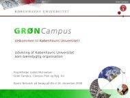 Grøn Campus - Byens Netværk