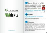 ViAdukts Nr.3 - Vidzemes Augstskola