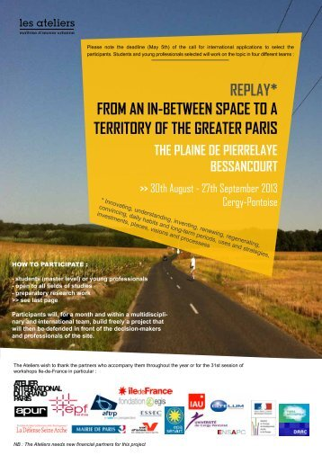 Topic document pdf 2.2 Mb - Les Ateliers