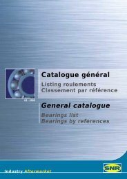 Catalogue général General catalogue