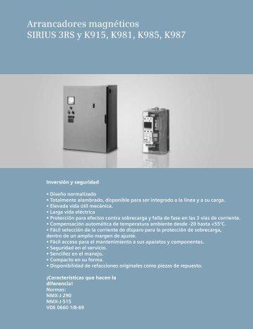 Arrancadores - Industria de Siemens