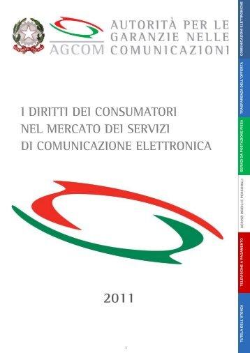 Diritti dei consumatori nel mercato delle ... - Corecom Lazio