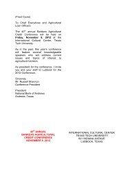 Registration Form 2012 Bankers Agricultural Credit Conference