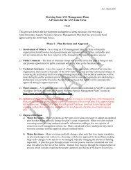 ANS Plan Revision Pr.. - Aquatic Nuisance Species Task Force