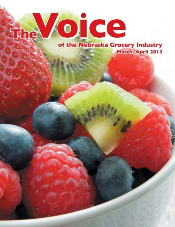 March/April - Nebraska Grocery Industry Association