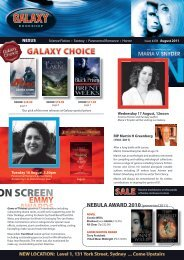 August #278 - Galaxy Bookshop