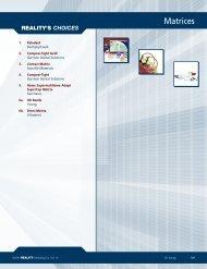 Matrices - REALITY Publishing Company