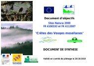 natura 2000 - DREAL Lorraine