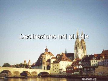 Il plurale - Deutsches Institut Florenz
