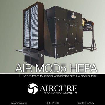 AIR MOD5 HEPA - AIRCURE.co.za