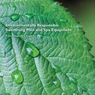 Environmentally Responsible Swimming Pool and Spa Equipment ...