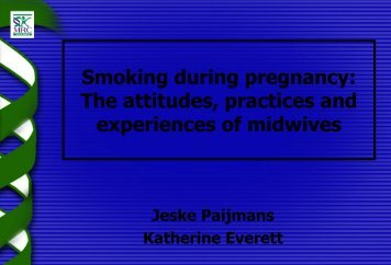 The attitudes, practices and experiences of midwives - SA HealthInfo