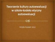 prezentacja (Barbara Okleja, PCDZN w Puławach)
