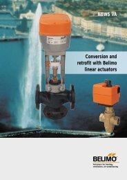 NEWS VA Conversion and retrofit with Belimo linear actuators