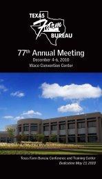 77th Annual Meeting - Texas Farm Bureau