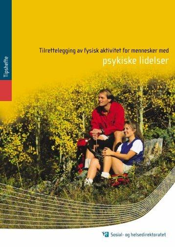 Tipshefte: Tilrettelegging av fysisk aktivitet for mennesker med ...