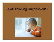 Is All Thinking Unconscious?