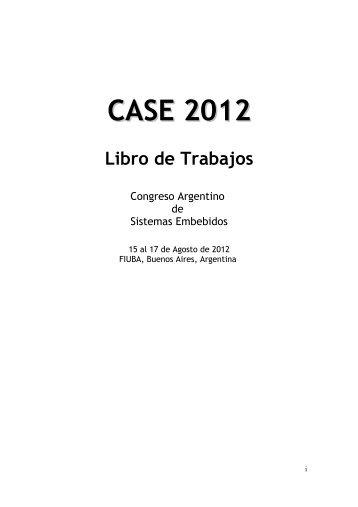 CASE 2012 Libro de Trabajos - Simposio Argentino de Sistemas ...