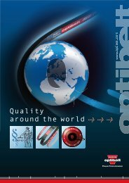 Quality around the world > > > - Optibelt