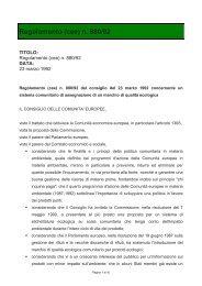 Regolamento (cee) n. 880/92