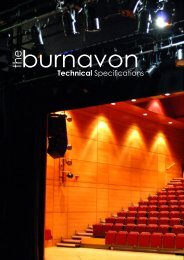 Technical Specifications - The Burnavon