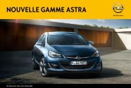 Nouvelle gamme astra - Opel