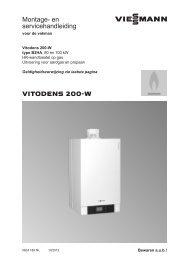 Montage- en servicehandlei- ding 80-100 kW7.3 MB - Viessmann