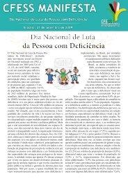 Dia Nacional de Luta da Pessoa com Deficiência - CFESS