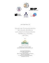 Estudio de Comportamientos de Lavado de Manos con Jabón en ...