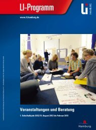 LI-Programm 2012/13 - Landesinstitut für Lehrerbildung und ...