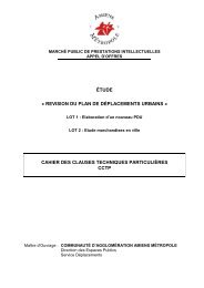 CCTP révision PDU