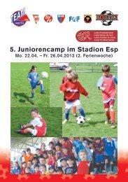 26.04.13 Juniorencamp FC Baden und Team Limmattal im Esp